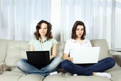 Working home Royalty Free Stock Photos