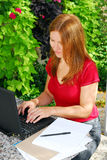 Working at home Stock Photography