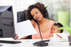 Working from home Stock Photography