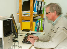 Working from home: successful internet business. Stock Photography