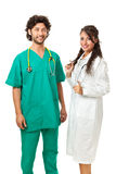Working in hospital Stock Photography