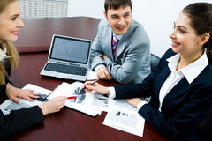 Working interaction Stock Photography