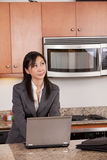 Working in the kitchen Royalty Free Stock Photo
