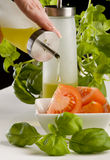 Working in the kitchen Stock Photography