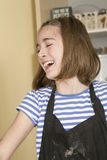 Working in the Kitchen. Royalty Free Stock Photos