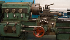 Working machine-tool Royalty Free Stock Images