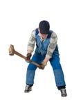 Working man Royalty Free Stock Photo