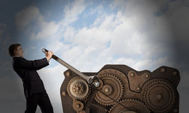 Working mechanism Royalty Free Stock Photography