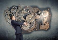 Working mechanism Stock Images