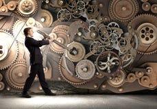 Working mechanism Royalty Free Stock Photo