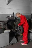 Working mechanist Stock Images