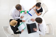 Working meeting Stock Image
