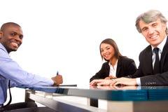 Working meeting Stock Photo