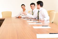 Working meeting Stock Photo