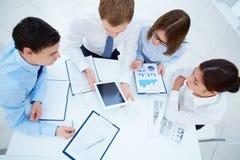 Working meeting Stock Image