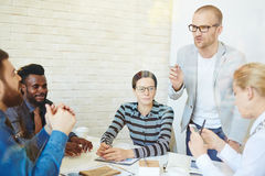 Working meeting Stock Photography