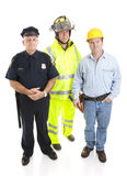 Working Men Royalty Free Stock Images