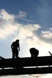 Working men Royalty Free Stock Images
