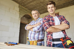 Working men Royalty Free Stock Photography