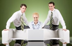 Working moment Royalty Free Stock Photography
