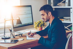 Working moments. Stock Images