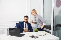 The Working Moments stock images