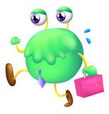A working monster Stock Images