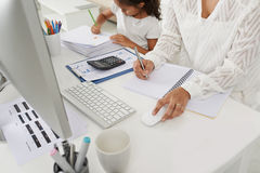 Working mother concept Royalty Free Stock Photo