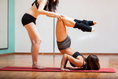 Working on my flexibility stock photos
