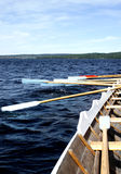 Working oars royalty free stock photos