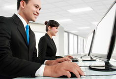 Working in the office Royalty Free Stock Photography