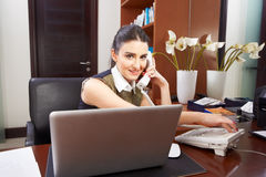 Working in office Stock Images
