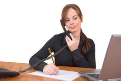 Working in the office Royalty Free Stock Photo