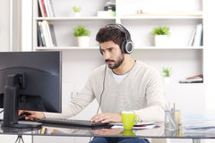 Working at office Royalty Free Stock Image