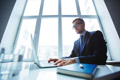 Working in office Royalty Free Stock Photo