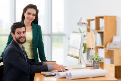 Working in the office Stock Photos