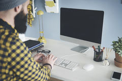 Working at the office Royalty Free Stock Photography