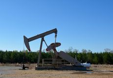 Working Oil Well Stock Photos