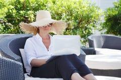 Working online Stock Photos