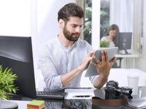 Working online Stock Photo