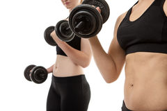 Working out Stock Image