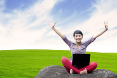 Working outdoor Stock Photography
