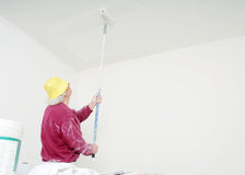 Working painter Stock Photos