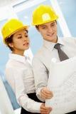 Working partners Stock Image