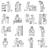 Working people in factory Stock Photography