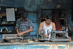 Working People in India Stock Photos