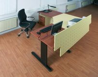 Working place. Working office Royalty Free Stock Photos