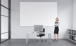 Working place of an executive Stock Photography