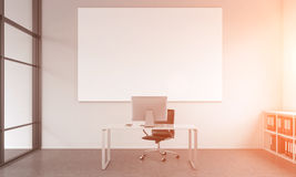 Working place of an executive Stock Images