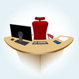 Working place Royalty Free Stock Photo